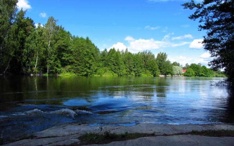 HD Remarkable River Scenery Wallpaper Download Free 54478