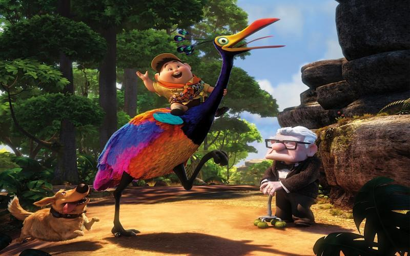 HD Pixars UP Animation Movie Wallpaper Download Free
