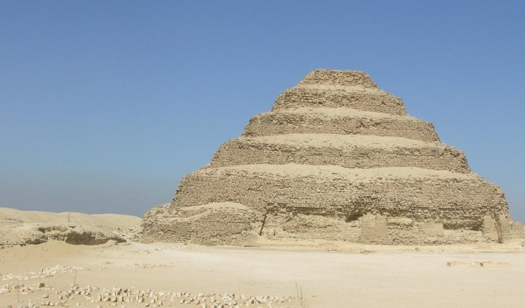Step pyramid in Sakkara 1