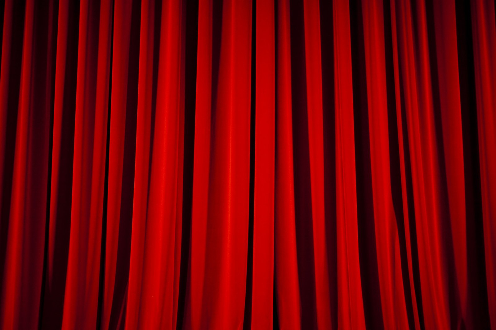 Free Red Curtain Stock Photo