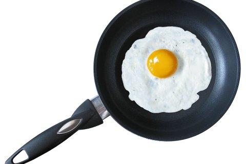 жареное яйцо холестерин