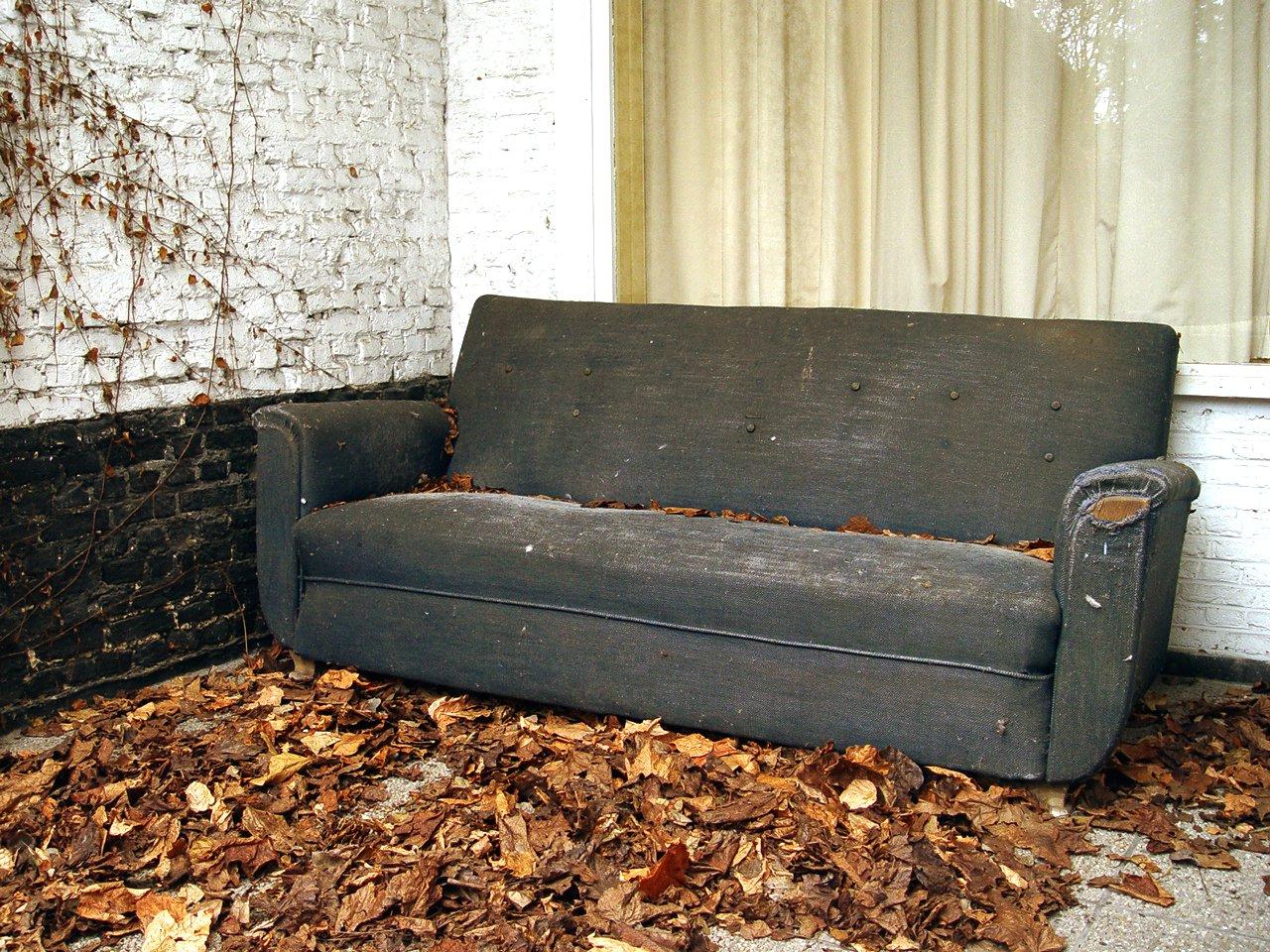 Free Old Sofa Stock Photo