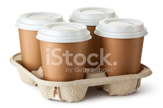Cardboard Cup Food Fast Holder