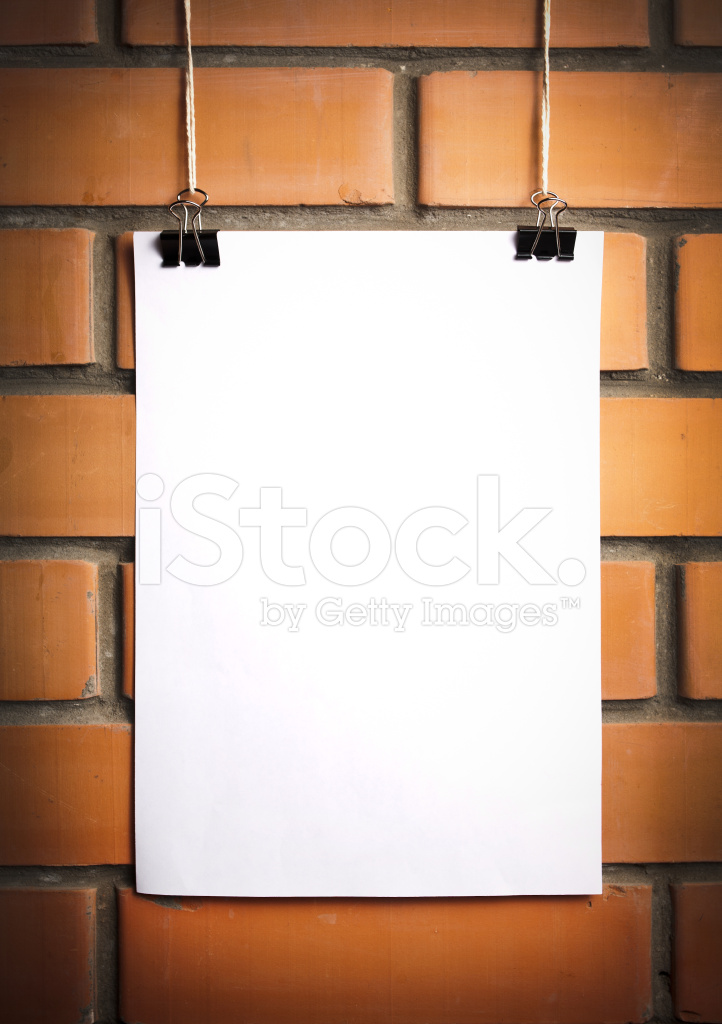 Blank Brick Wall Template
