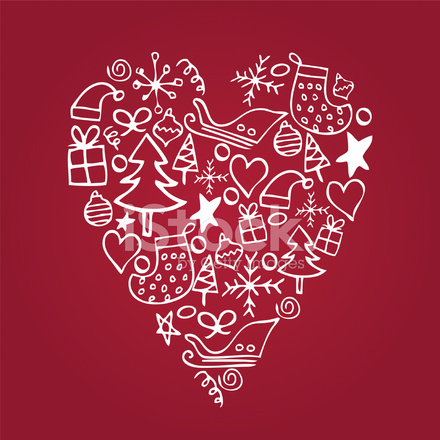 Download Love Christmas Stock Vector - FreeImages.com