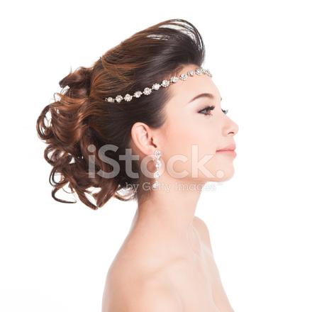 Braut Make Up Und Frisur Hochzeit Standesamt Kurze Haare Mit