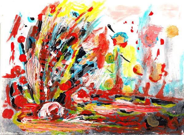 Abstrakte Bilder Malen Lernen Und Geschichten Entstehen Lassen