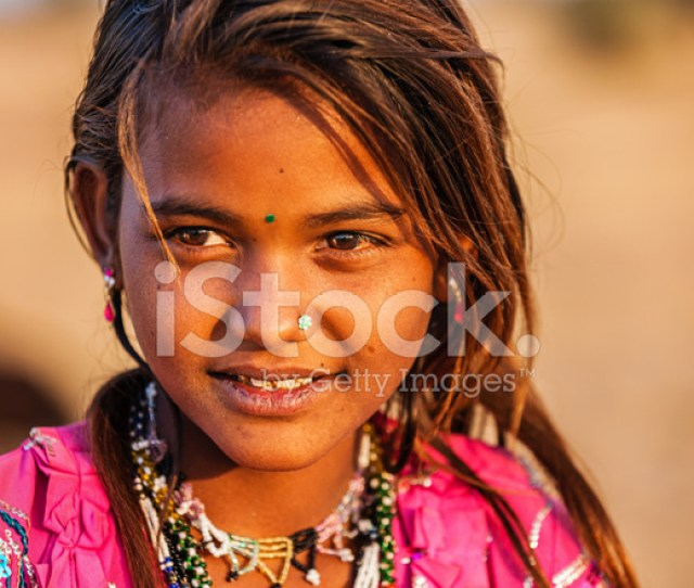 Premium Stock Photo Of Young Indian Girl In Desert Village India