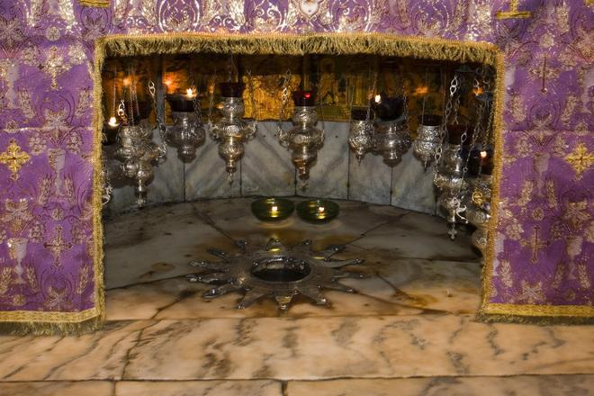 Altar de la Natividad, Bethlehem