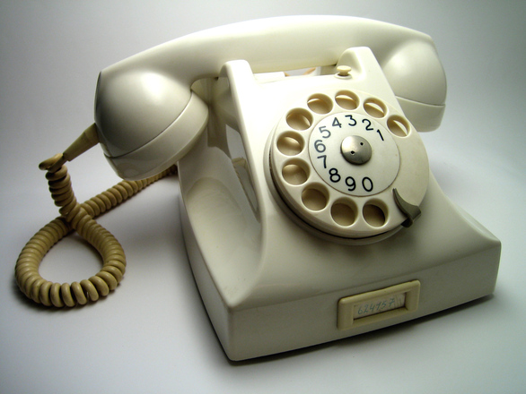Oma's Old Telephone