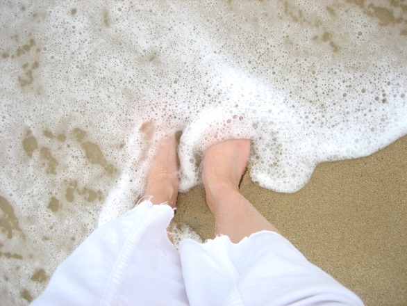 Waves, Sand and Feet