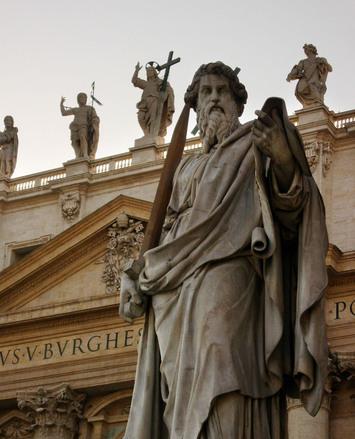 Las estatuas de Vaticano