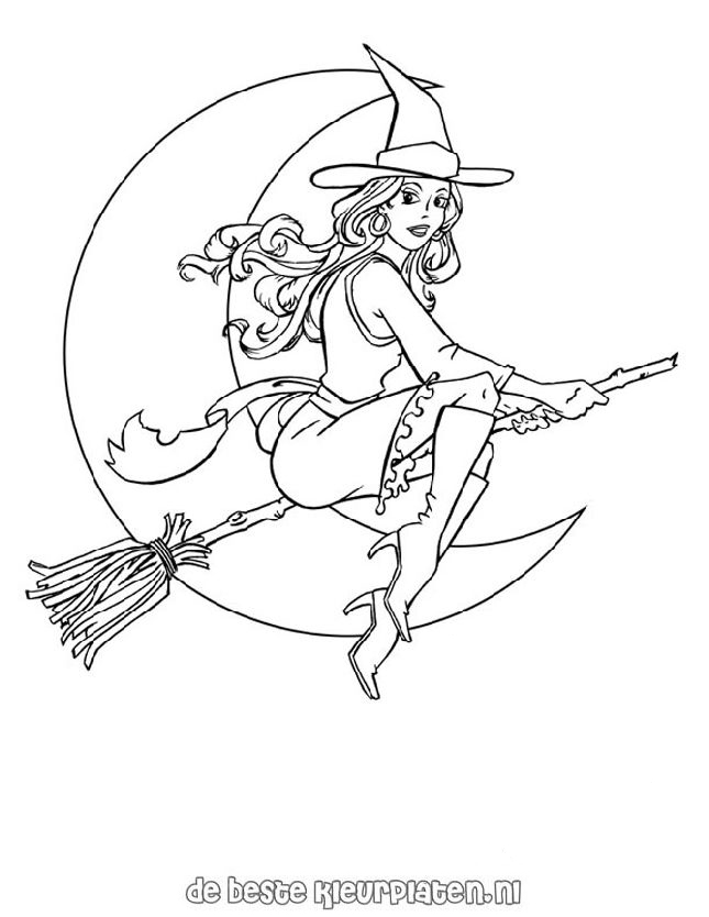 Halloween 0005 Printable Coloring Pages