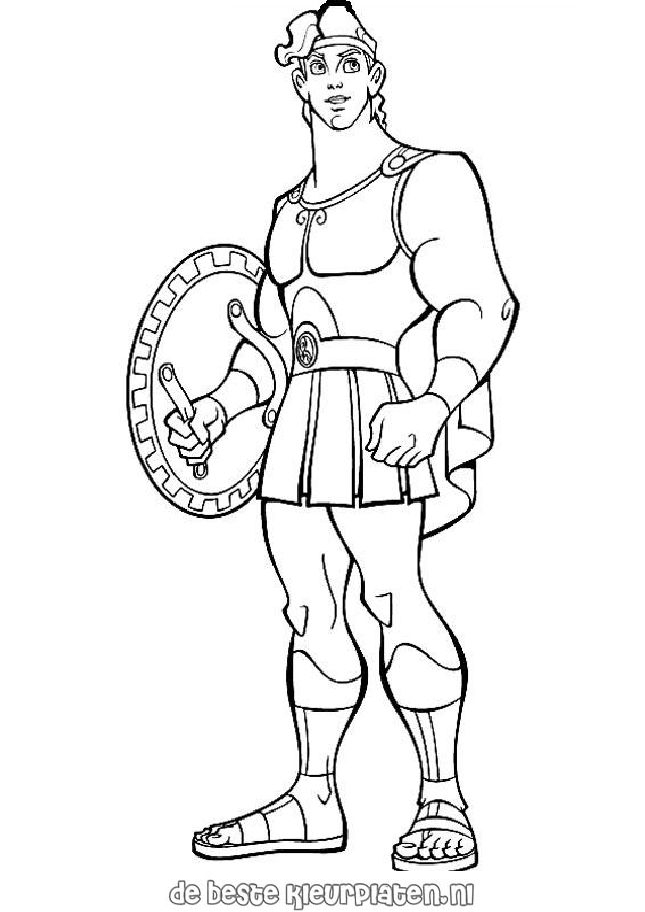 Kleurplaten Disney Hercules.Hercules Coloring Pages Hercules Pegasus Coloring Pages Disney