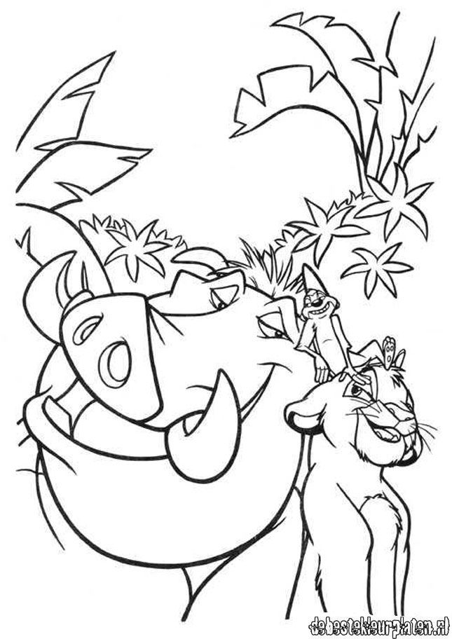 Lionking3 Printable Coloring Pages