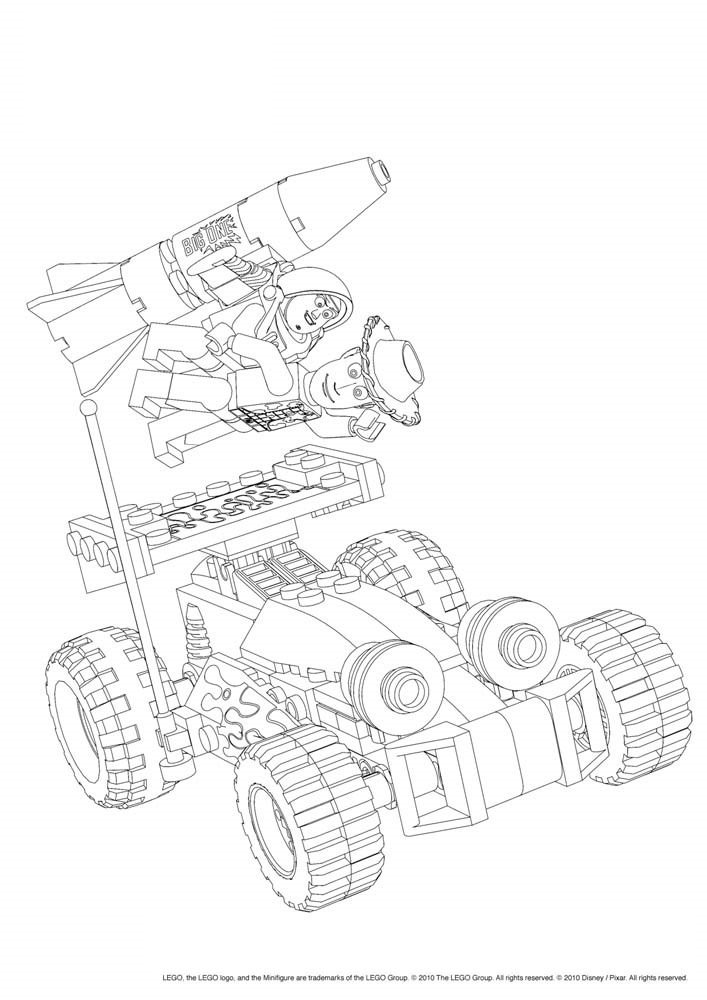 Lego 23 Printable Coloring Pages