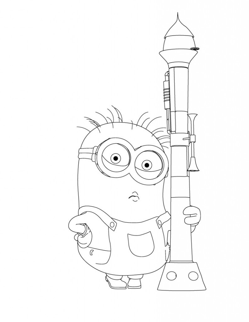 Despicable Me 3 Printable Coloring Pages