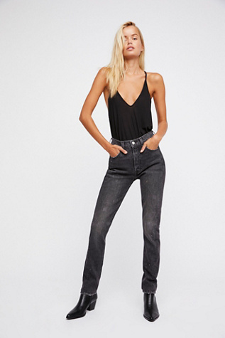 Levis 501 Skinny Altered Jeans Free People