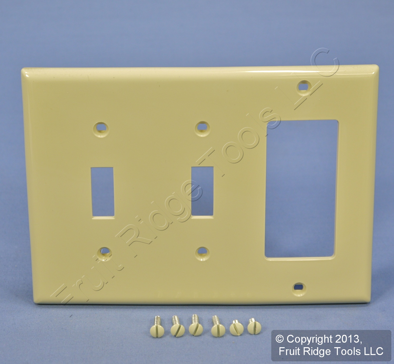 Bronze Switch Plate With Ivory