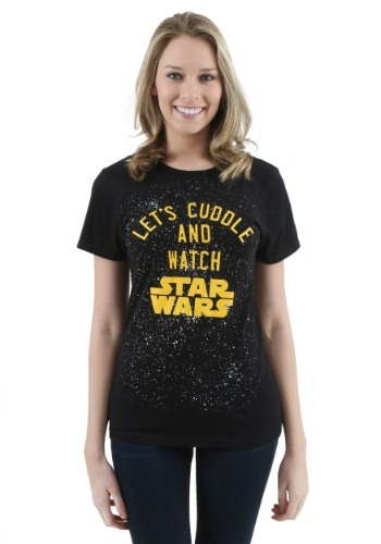 Women's Star Wars Let's Cuddle T-Shirt
