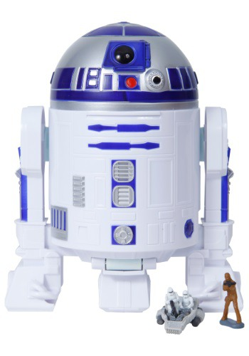 Star Wars The Force Awakens R2-D2 Micro Machines Play Set