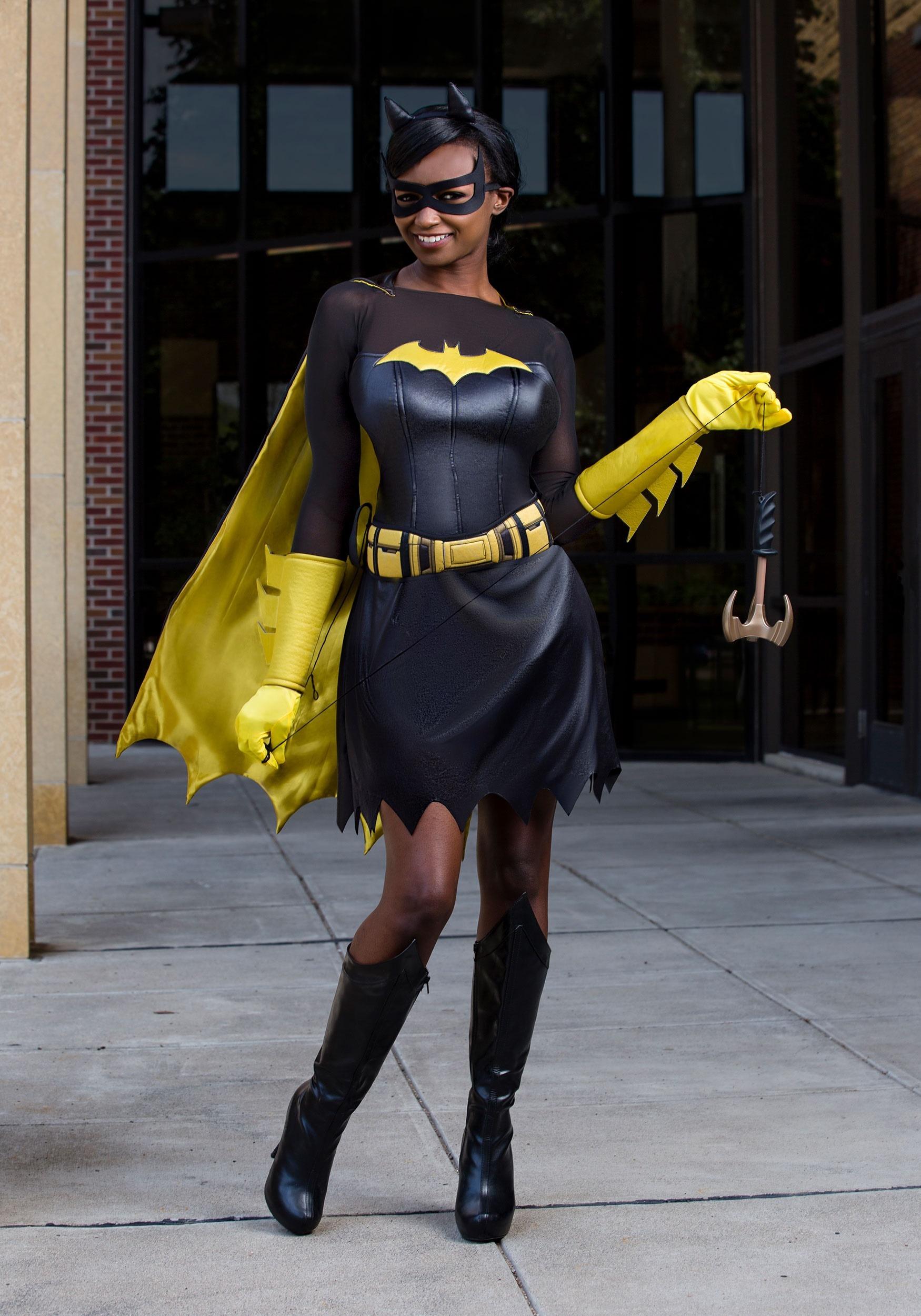 Dc Deluxe Batgirl Costume For Women