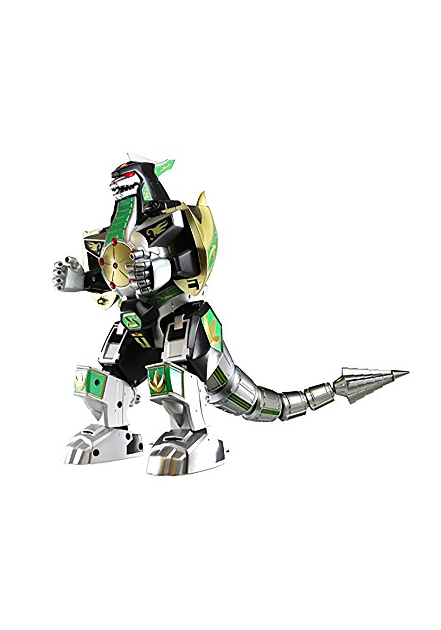 Power Rangers Legacy Dragonzord Cast Metal Action Figure
