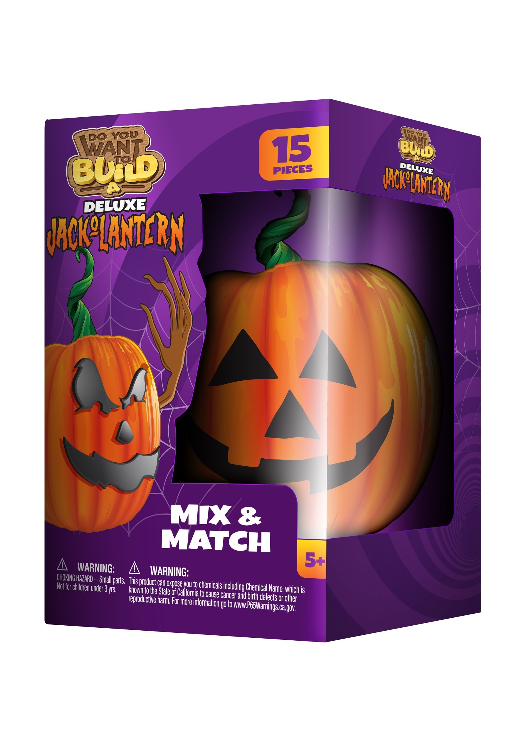 Deluxe Do You Want To Build A Jack O Lantern Kit