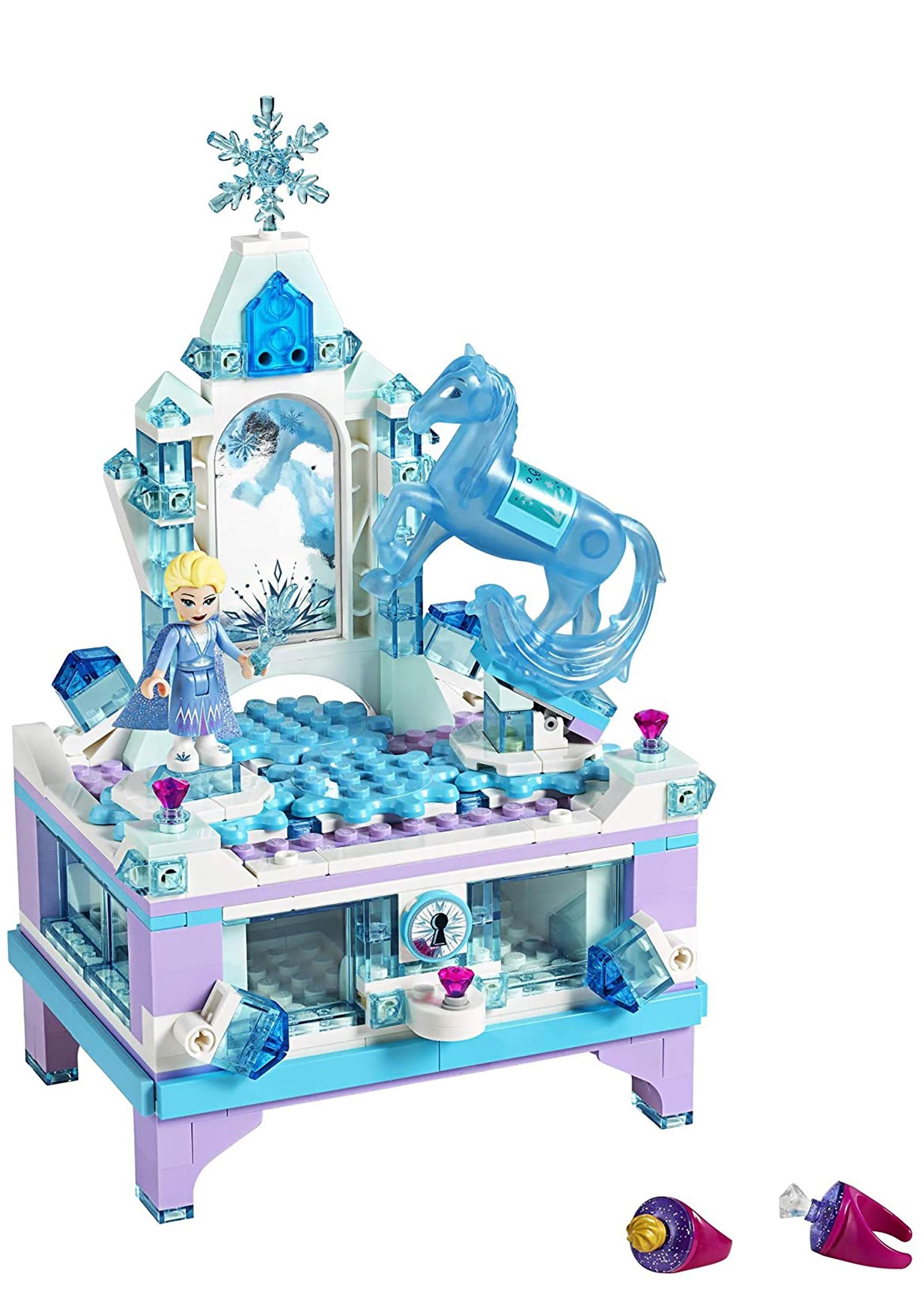 Frozen 2 Lego Elsa S Jewelry Box Creation Building Set