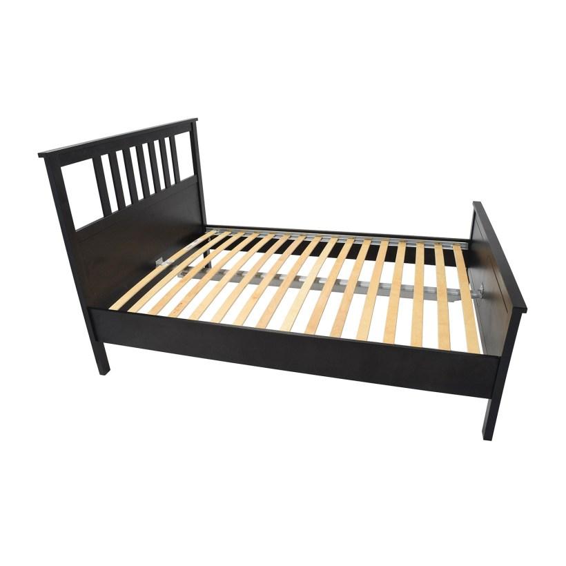 57 Off Queen Hemnes Bed Frame Beds