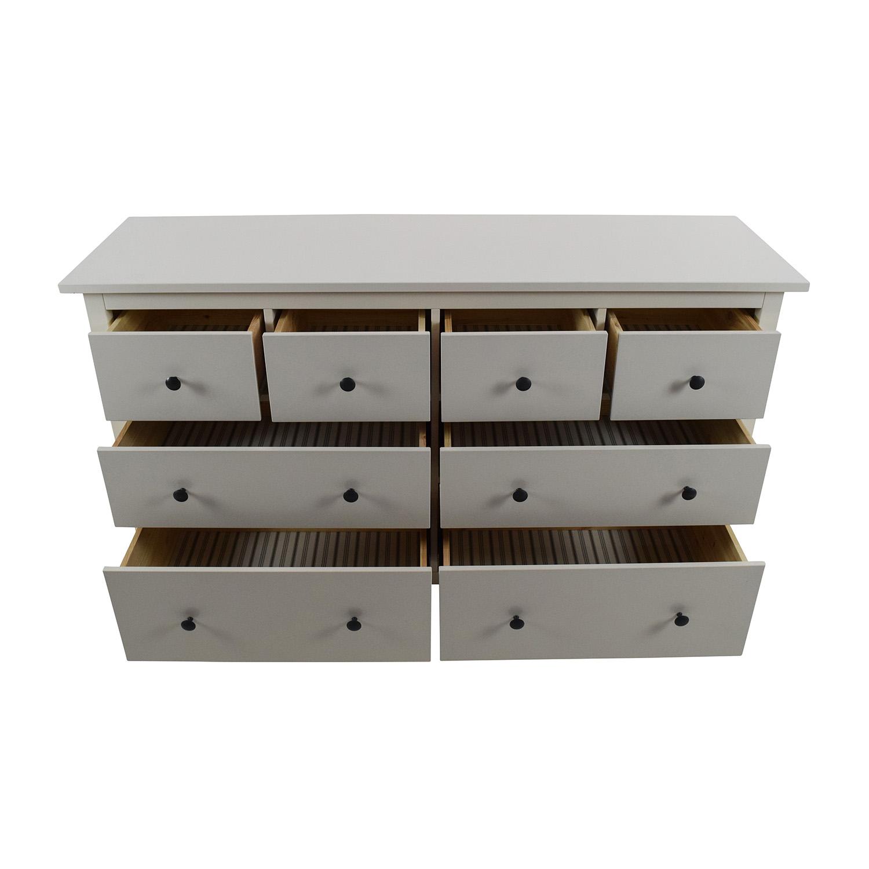 49 Off Ikea Ikea Hemnes 8 Drawer Dresser Storage