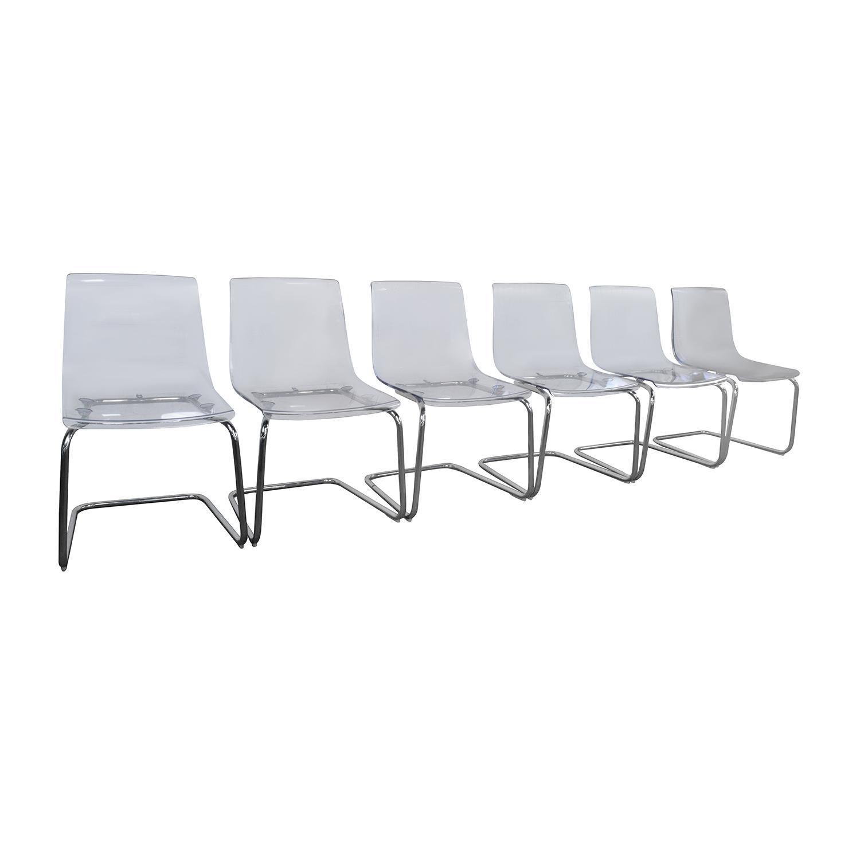 51 Off Ikea Ikea Tobias Ghost Chair Chairs