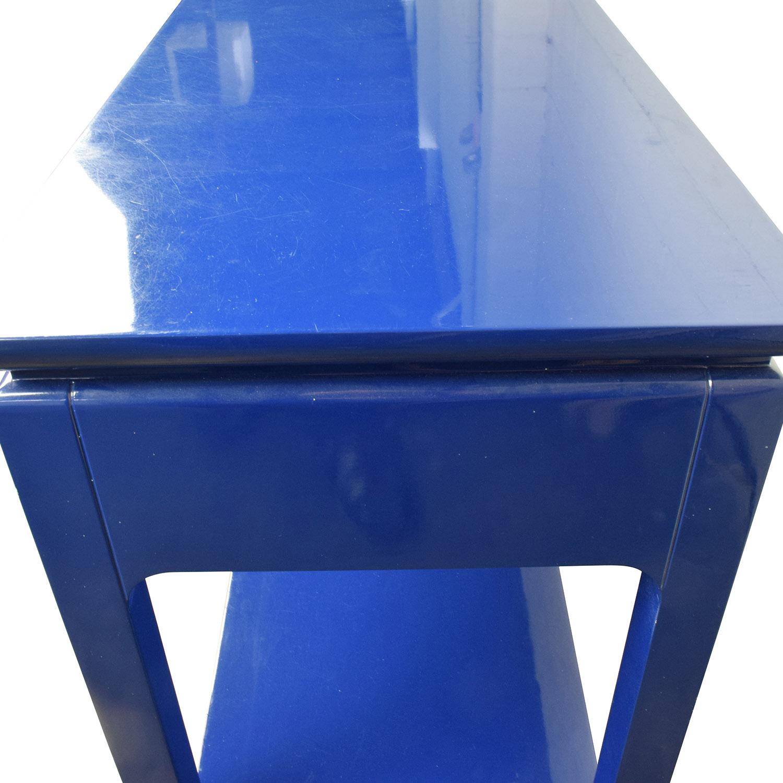 85 Off Bruna Bruna Modern Classic Blue Lacquer