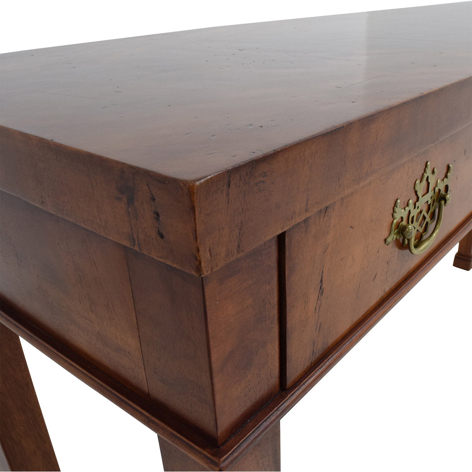 90 OFF Custom Two Drawer Wood Sofa Table Tables