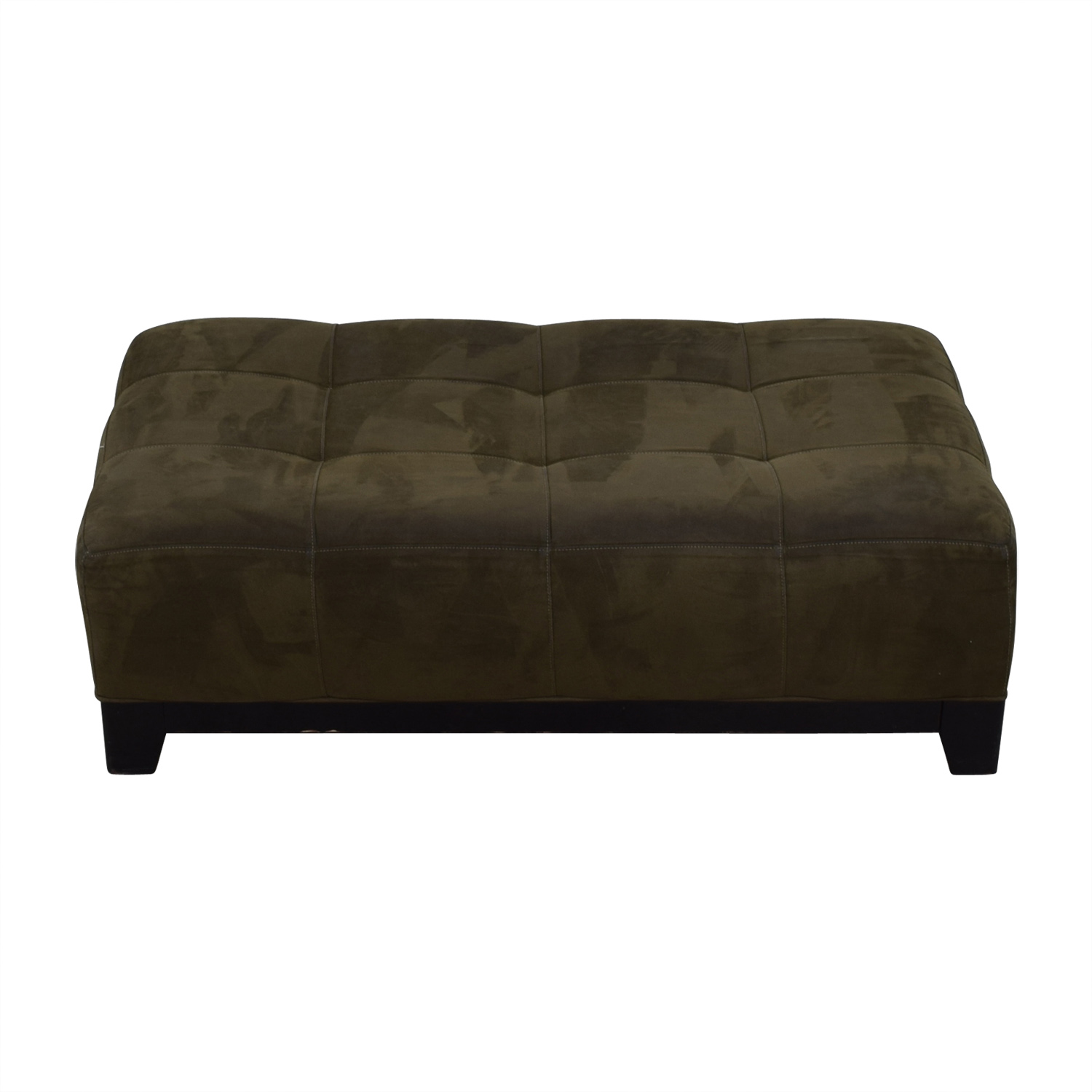 raymour flanigan raymour flanigan brown leather ottoman second hand