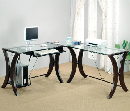 Image result for Coaster L-Shape Computer Desk Unit 800446