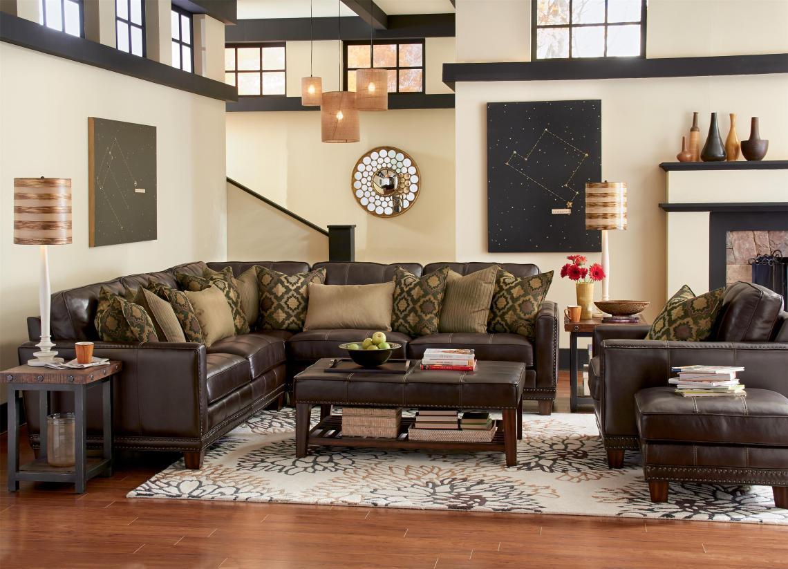 Flexsteel Latitudes Port Royal Stationary Living Room Group Conlin S Furniture Stationary Living Room Groups
