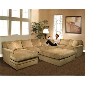 Oversized Sectionals Sofas Sofa  sc 1 st  Roselawnlutheran | Decor Ideas : plush sectionals - Sectionals, Sofas & Couches