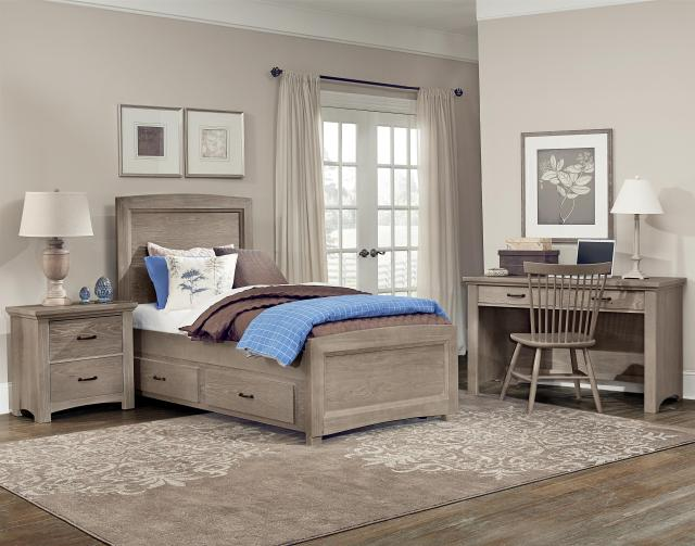 Vaughan Bassett Transitions Full Panel Bed Belfort Furniture