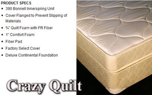 Crazy Quilt Mattress Image For Columbus Ohio Cls Direct