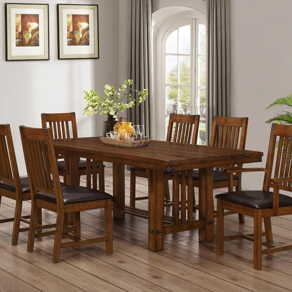 Shop Outlet Furniture at Conlin s Furniture   Montana  North Dakota     mission style wood dining set