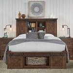 Aamerica Sun Valley California King Storage Platform Bed Furniture Superstore Rochester Mn Platform Beds Low Profile Beds