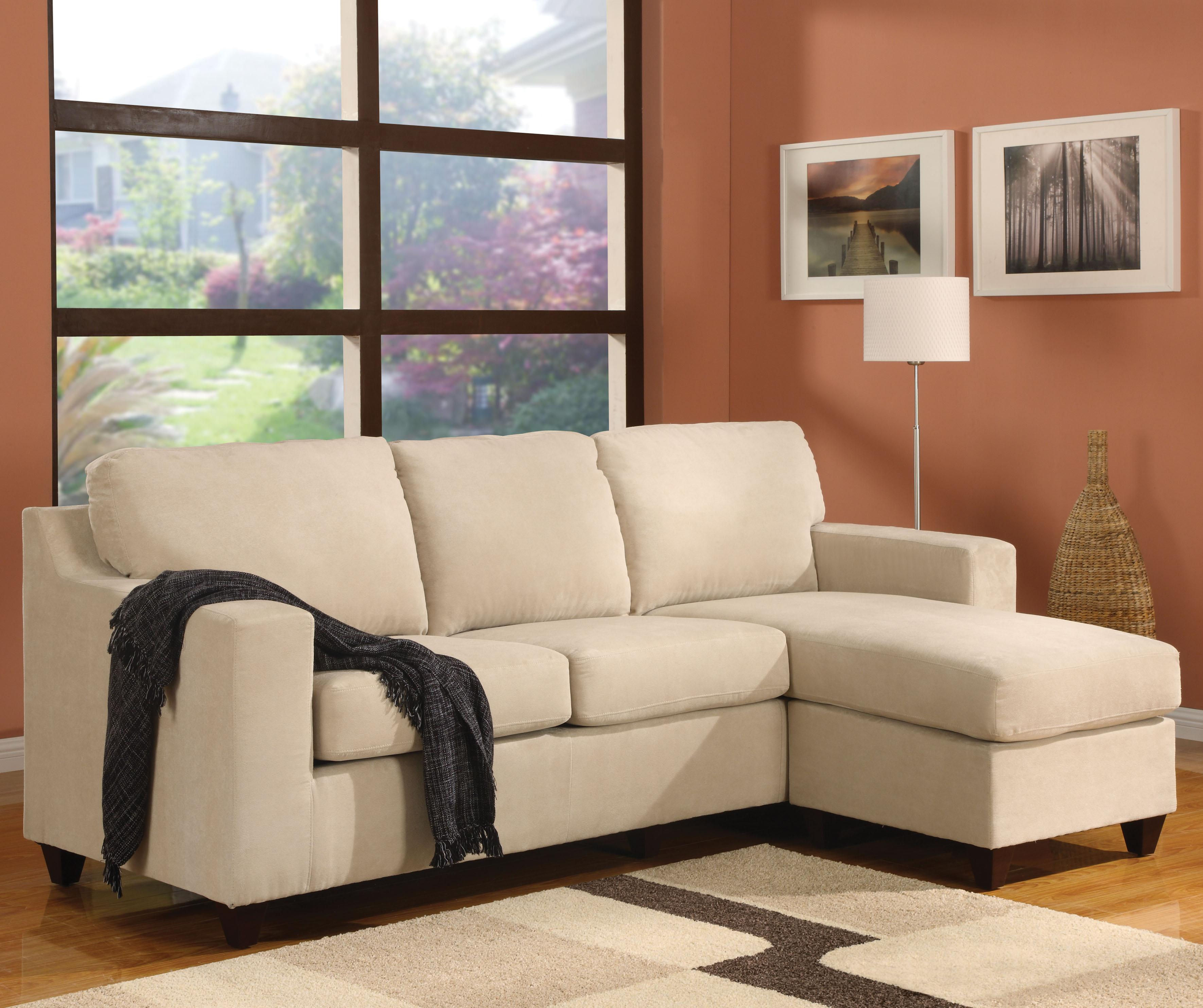 Acme Furniture 5913 05913A Vogue Reversible Chaise Two Piece Sectional Nassau Furniture Sofa