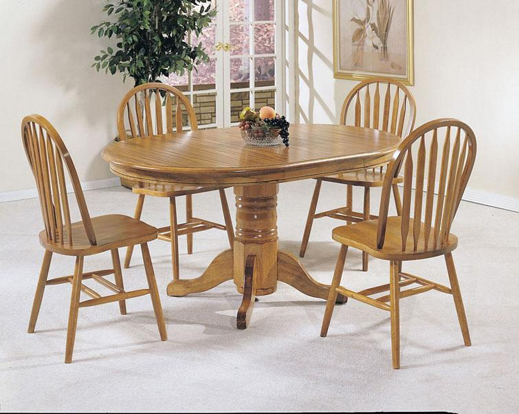 Acme Furniture Nostalgia 06344OAK Arrowback Windsor Dining
