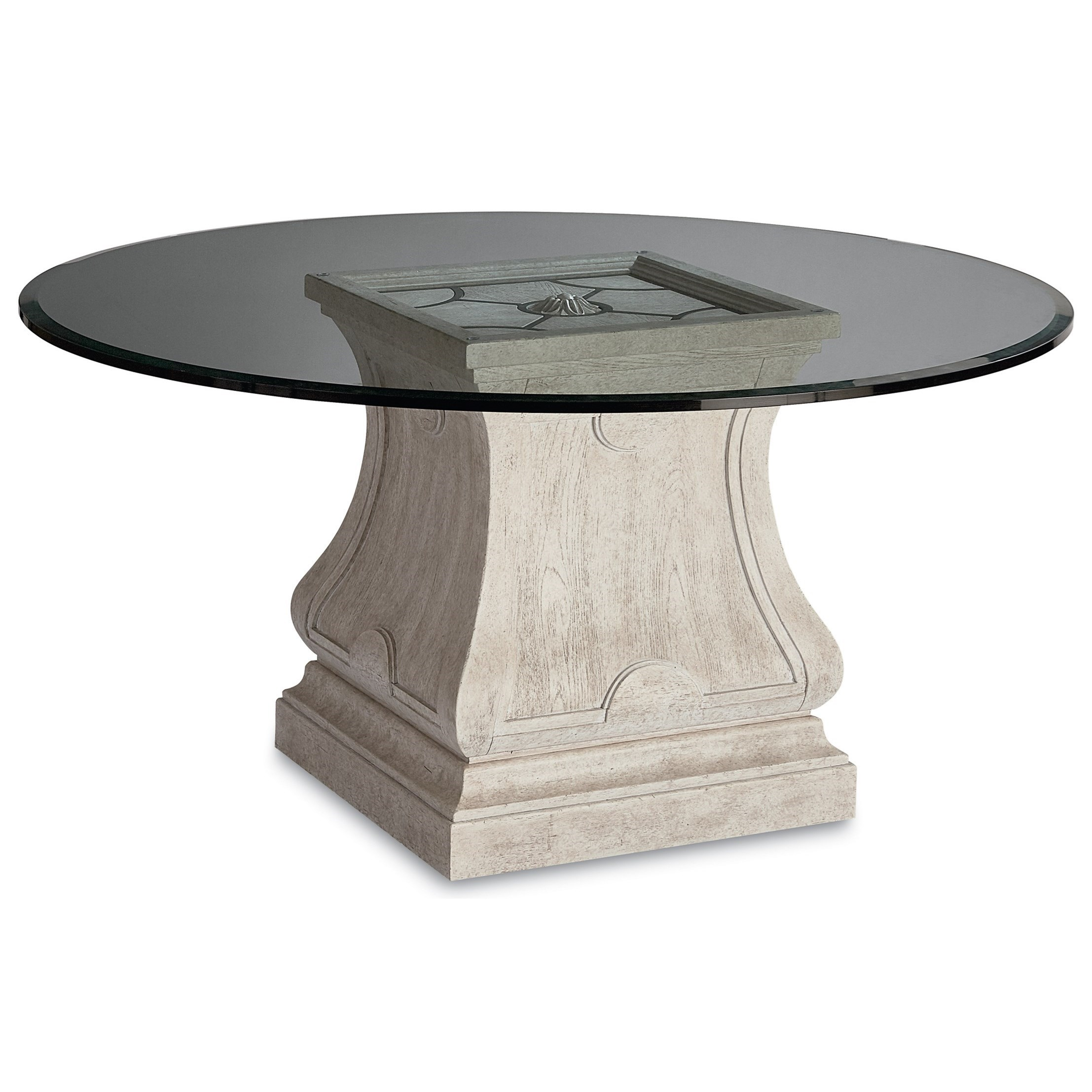 leoni round dining table