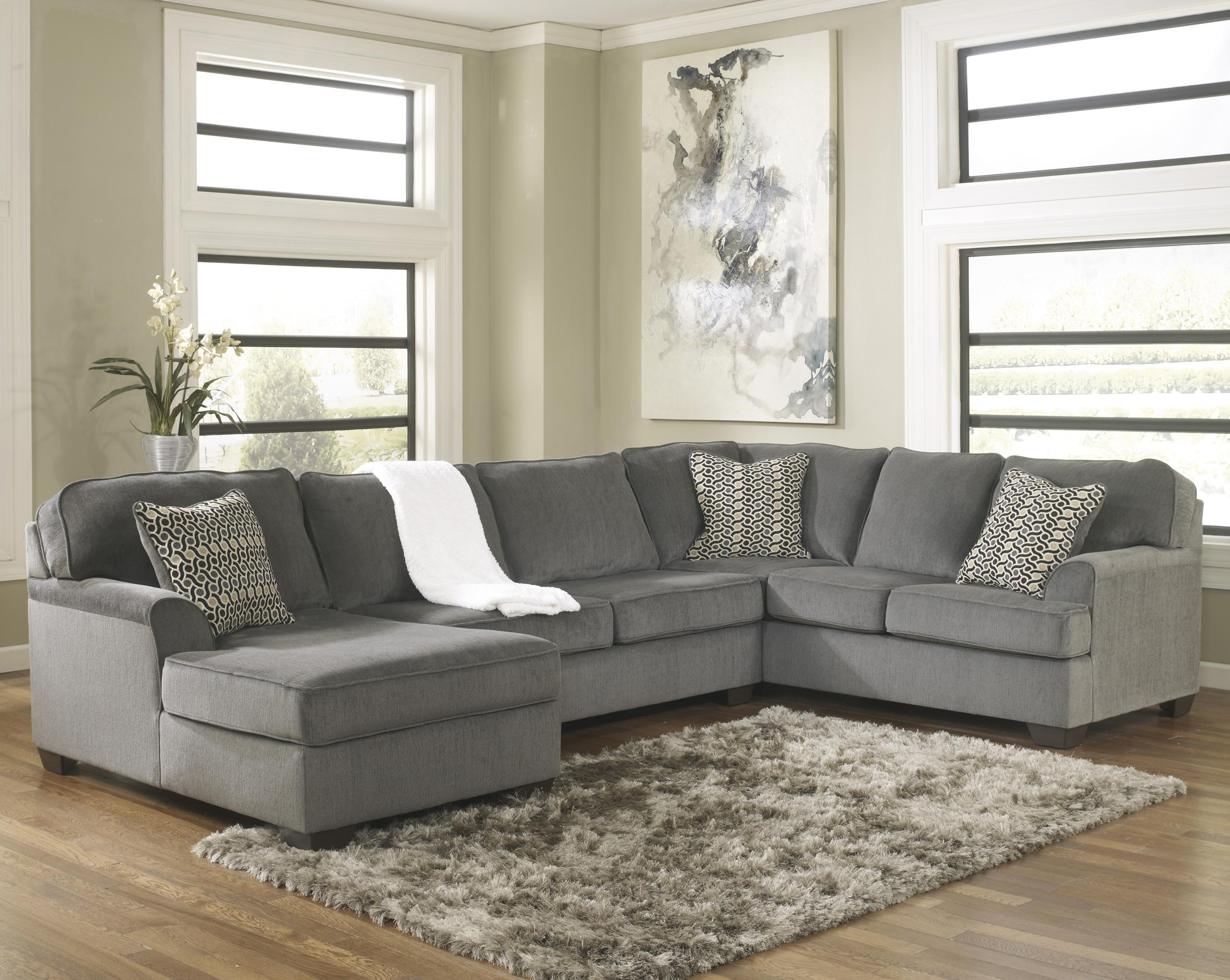 contemporary 3 piece sectional with chaise