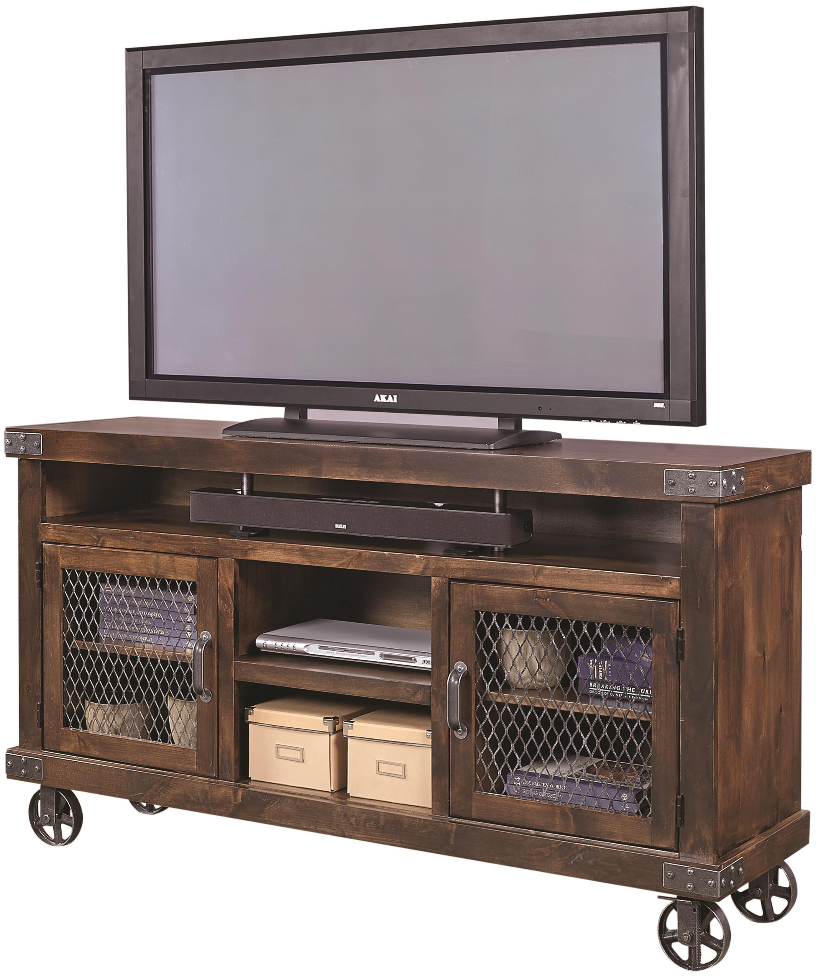 Aspenhome Industrial DN1065 TOB 65 Console With Metal