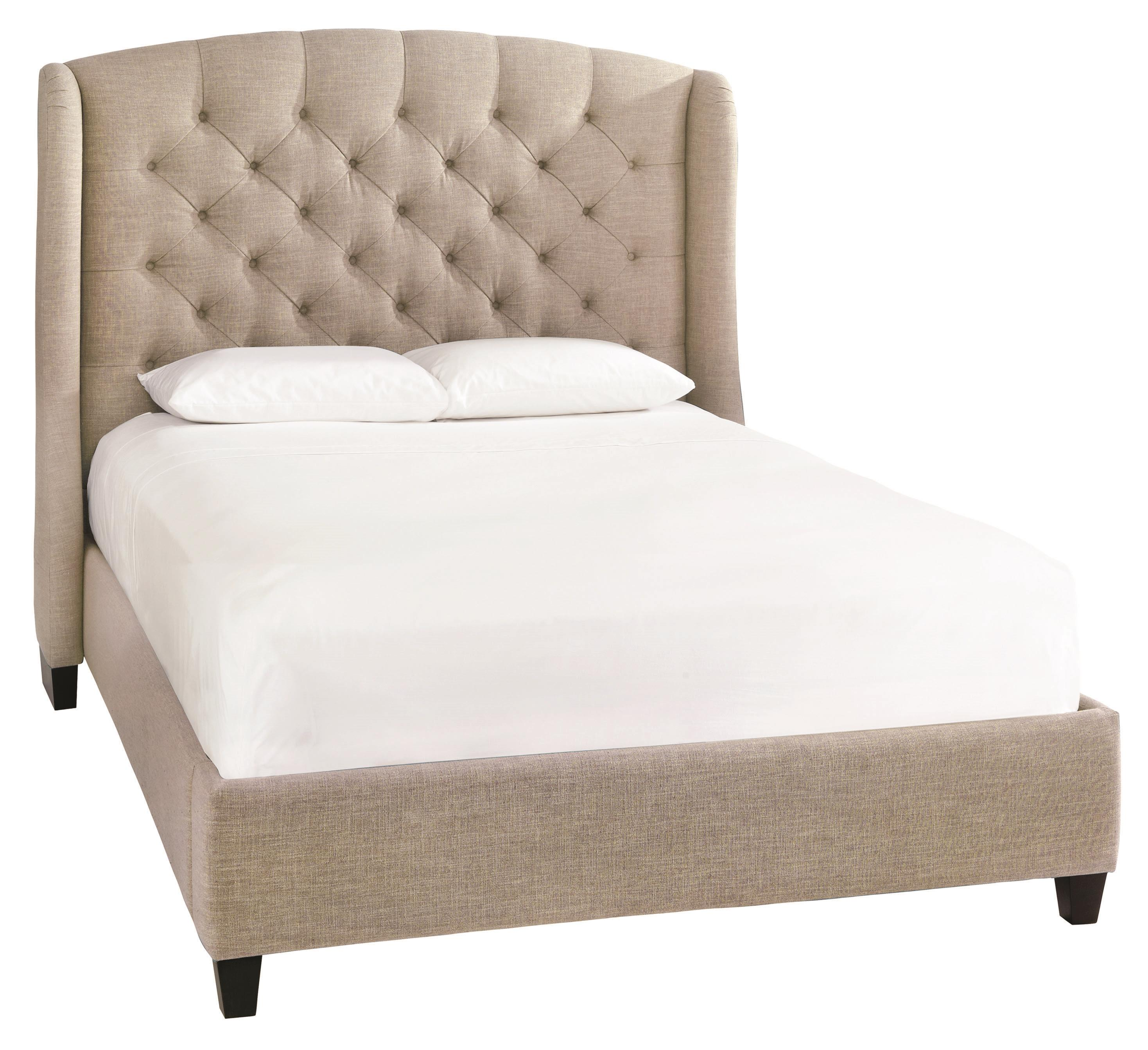 Bassett Custom Upholstered Beds Paris King Size