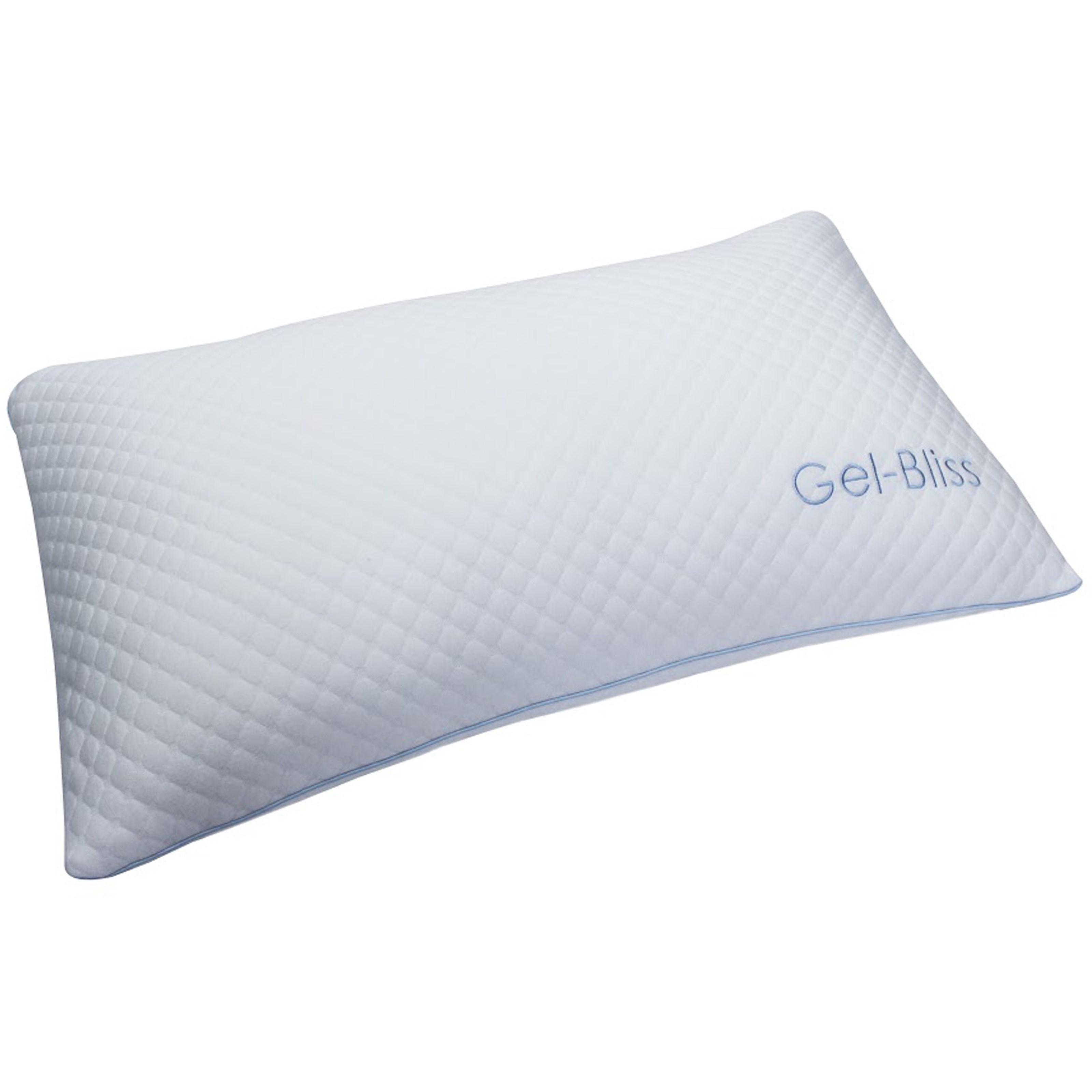BedTech Gel Bliss Pillow RX 141 Gel Bliss Foam Latex And Gel Hybrid Pillow Sam Levitz