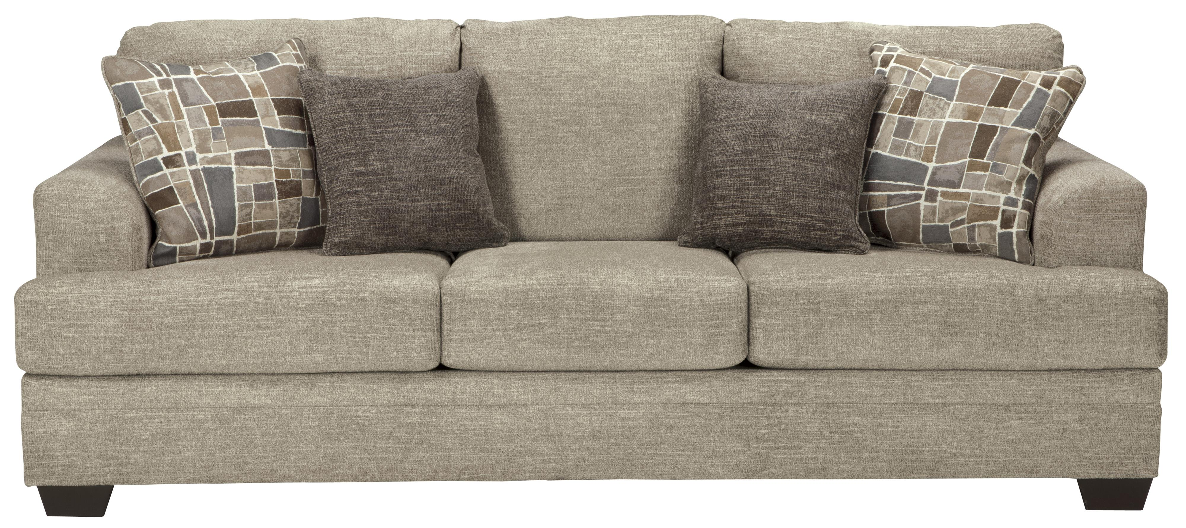 Benchcraft Barrish Contemporary Sofa With Flared Arms Wayside Furniture Sofa